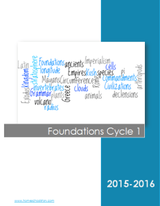 CC Foundations Cycle 1 Cover Pic
