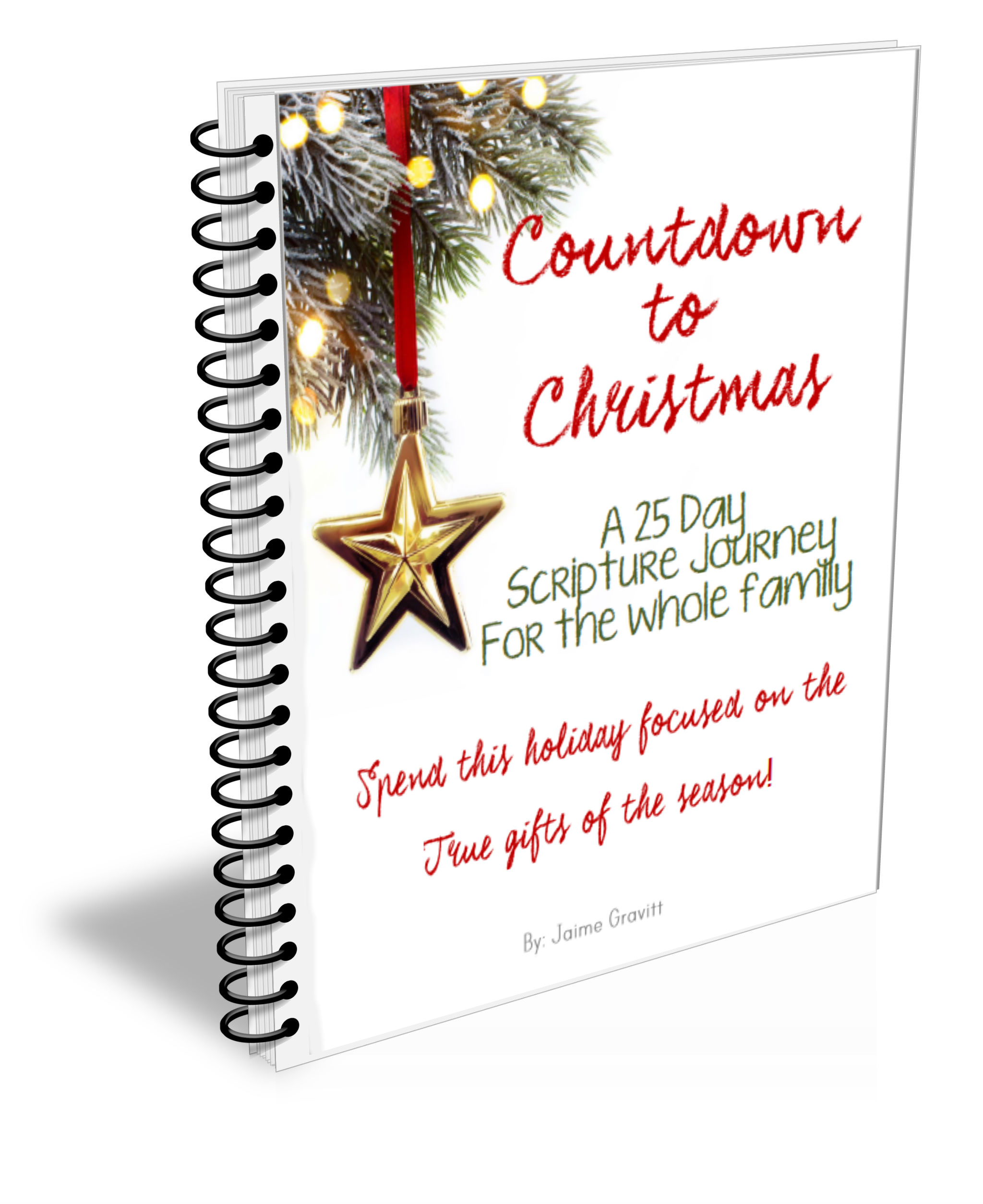 25 Day Family Christmas Devotional Homeschool Story