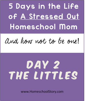5 Days in the Life of a Stressed Out Homeschool Mom - post by HomeschoolStory.com