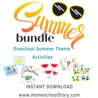 Summer Preschool Busy Bag Bundle - INSTANT DOWNLOAD