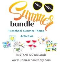 Summer Preschool Busy Bag Bundle - INSTANT DOWNLOAD