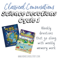 Science Devotions - CC Cycle 1