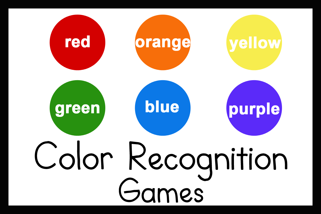 3 Games For Teaching Color Recognition