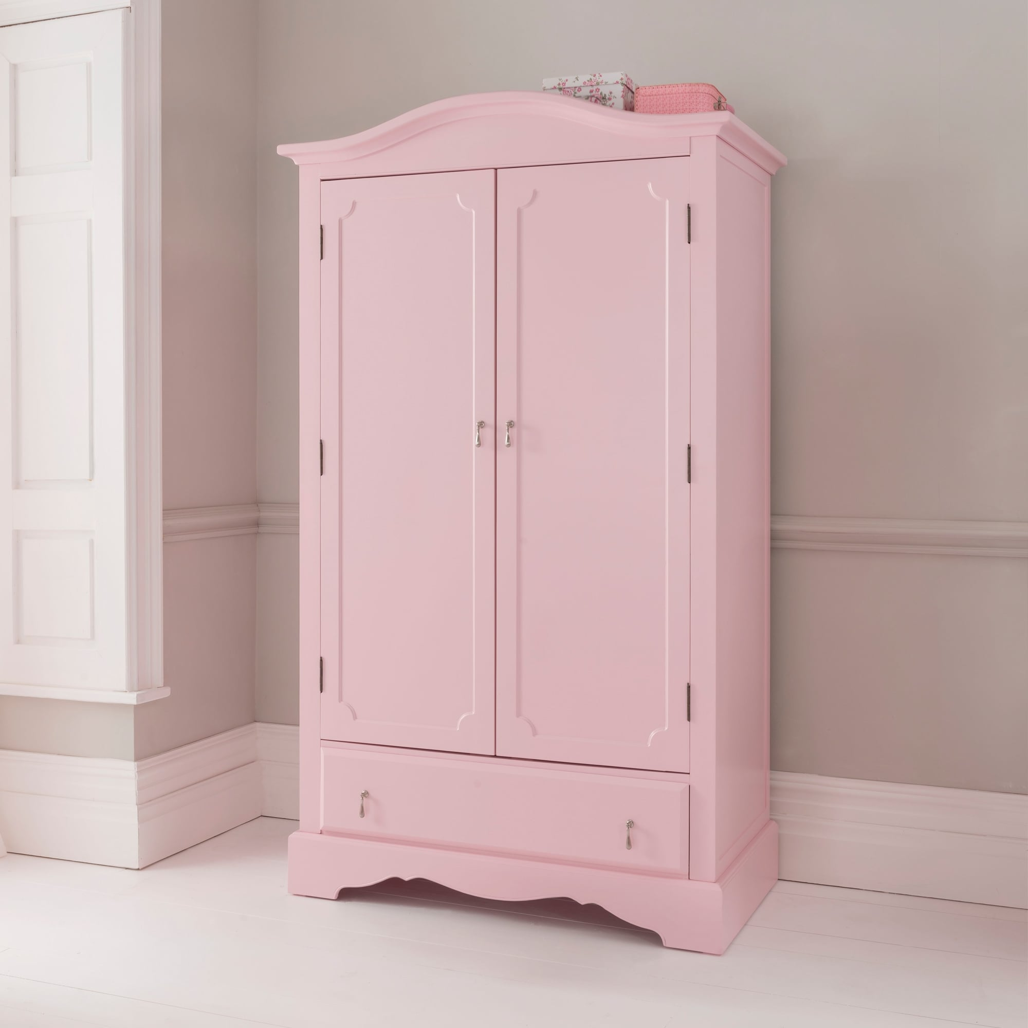 Antique French Style Wardrobe  Shabby Chic Bedroom