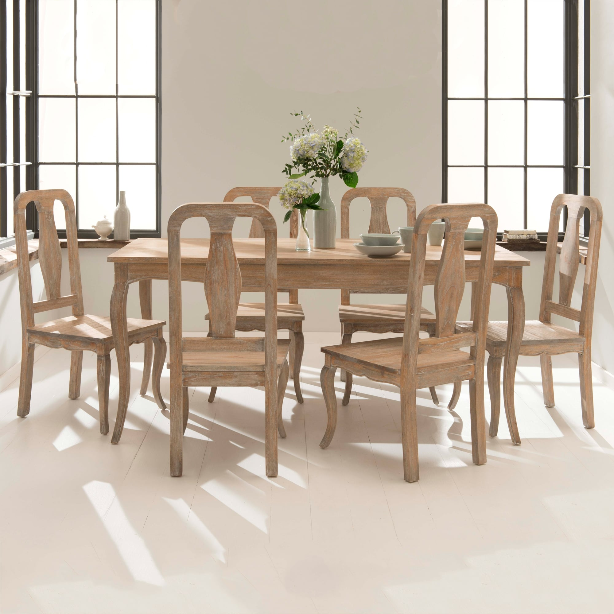 Antique French Style Dining Table Set  French Furniture