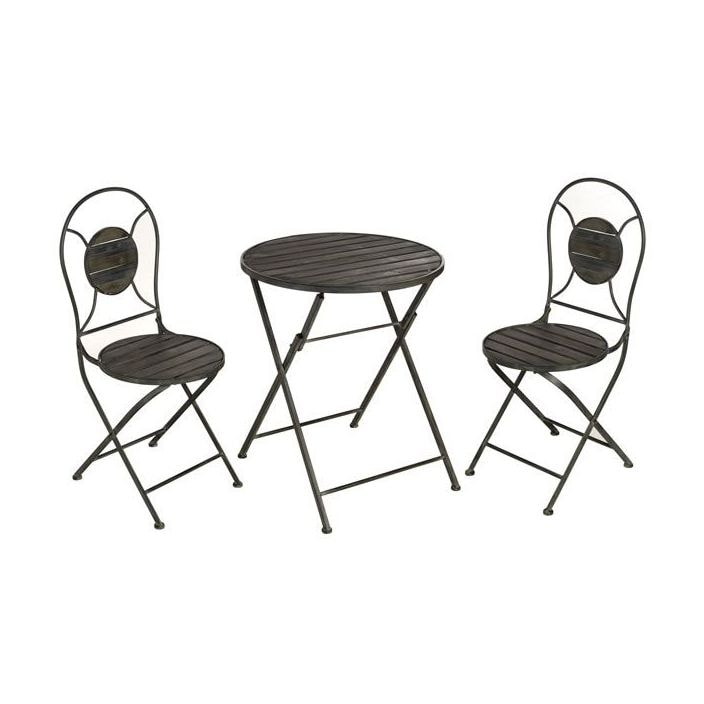 french bistro table and chairs uk resin stackable antique style grey chair set tables benches from homesdirect 365