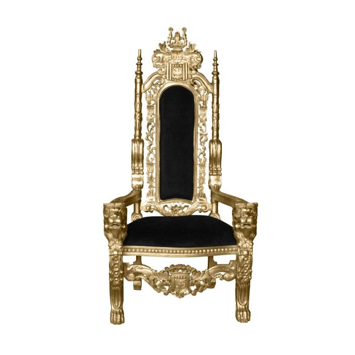 throne chair cover glider on wedding chairs wooden gold thorne