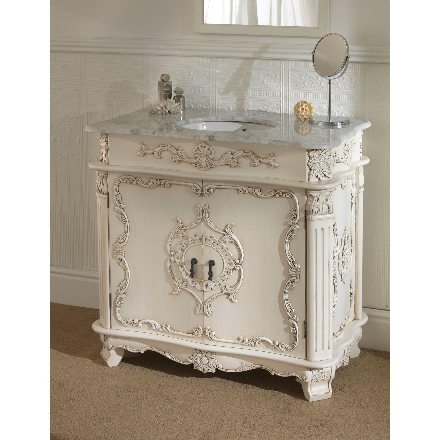 Antique French Vanity Unit
