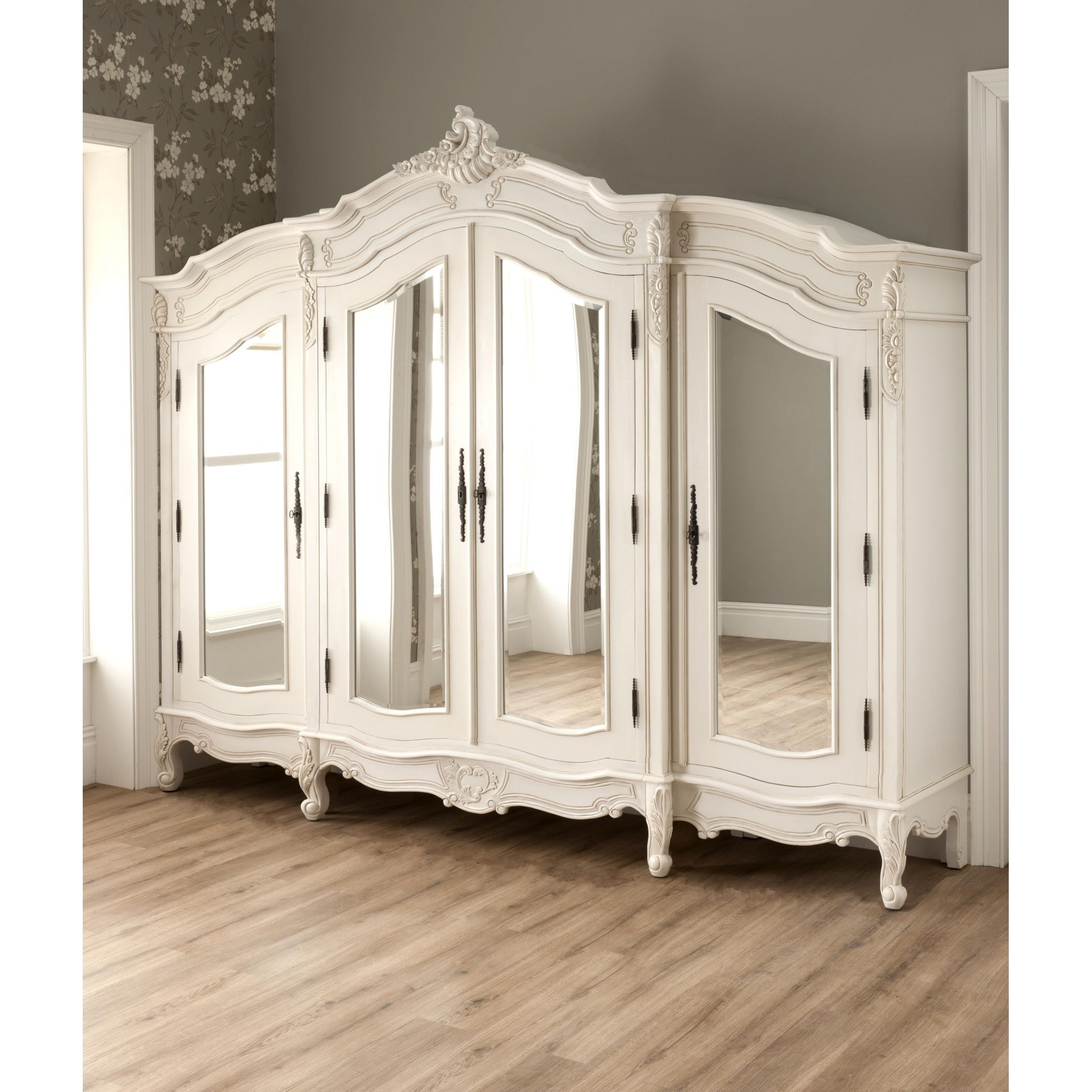 Large Antique French Wardrobe compliments our fantastic