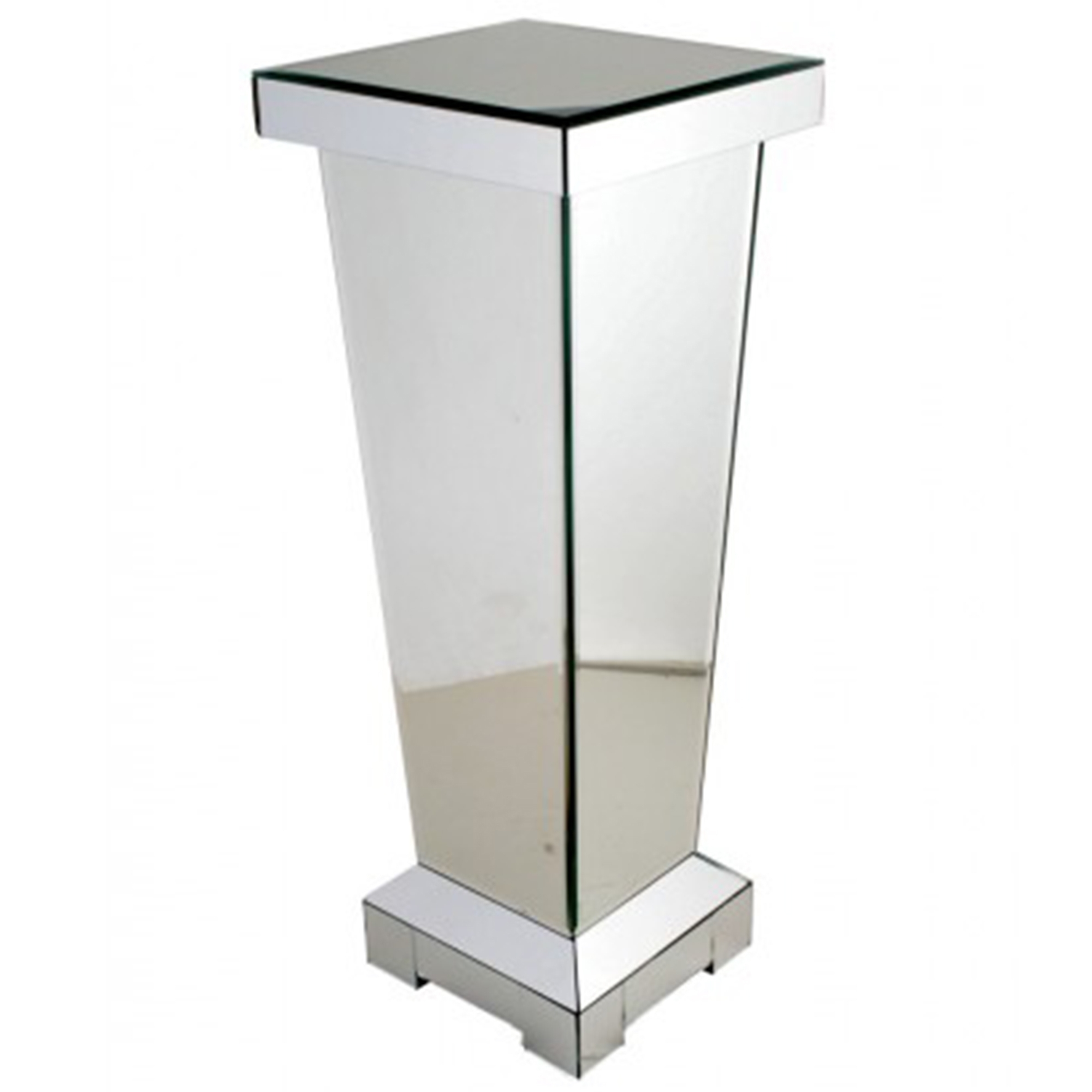 Large Mirrored Pedestal