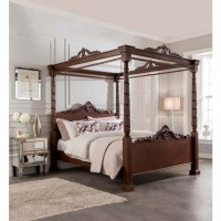 Lincoln Four Poster Antique French Style Bed