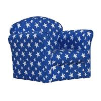 Mini White Stars Armchair