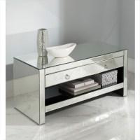 Mirrored TV Cabinet | Glass Venetian Furniture ...