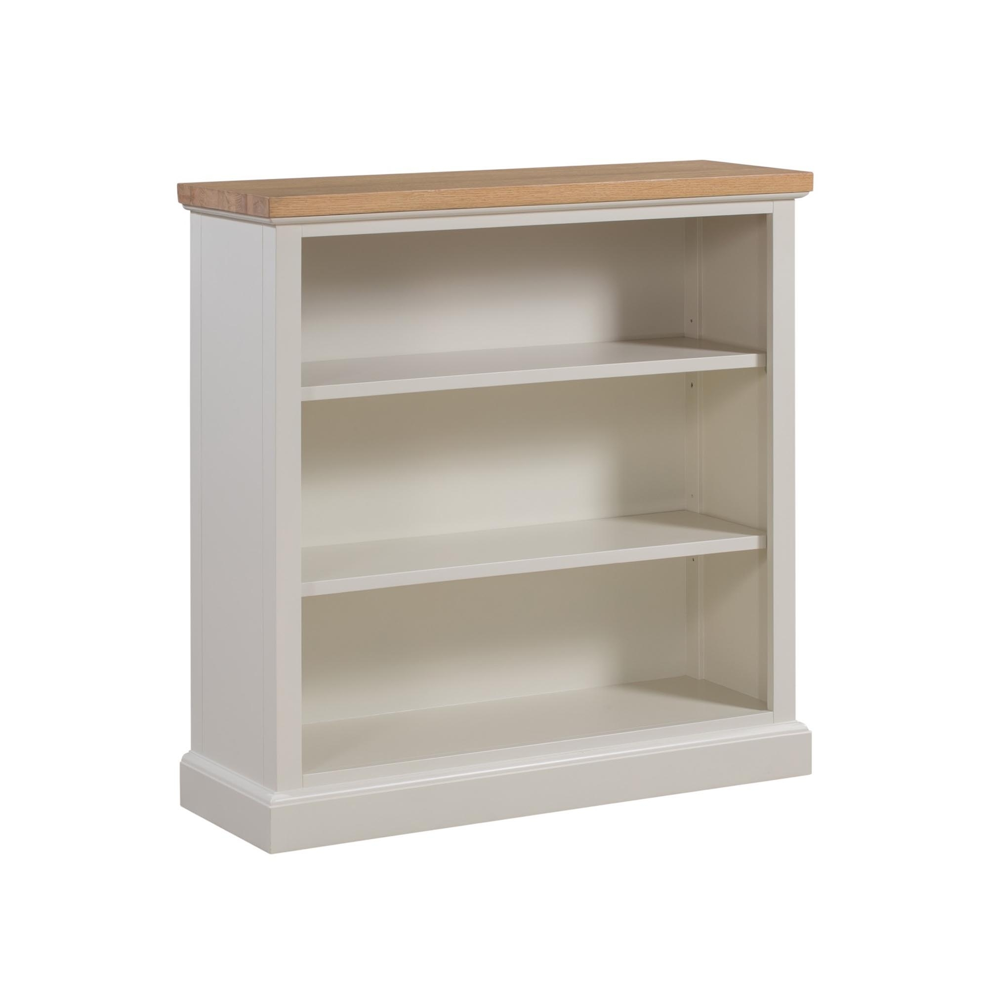 Ripley Shabby Chic Low Bookcase