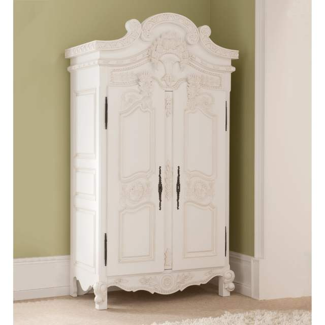 Rococo Antique French Wardrobe a stunning addition to our shabby
