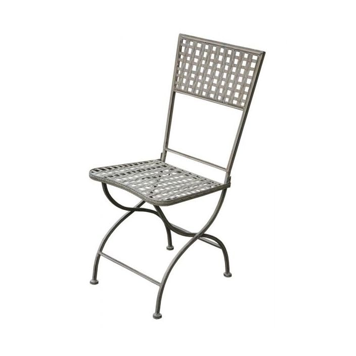 black metal folding garden chairs spiderman table and toys r us square lattice chair french bistro tables benches from homesdirect 365 uk