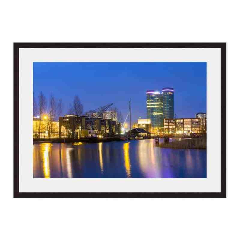 Fine art print op acryl, poster, matte of ingelijst | Schemer in de veilinghaven | Museumkwaliteit foto prints kopen op www.Homeseeds.nl | #utrecht #makers #werkaandemuur