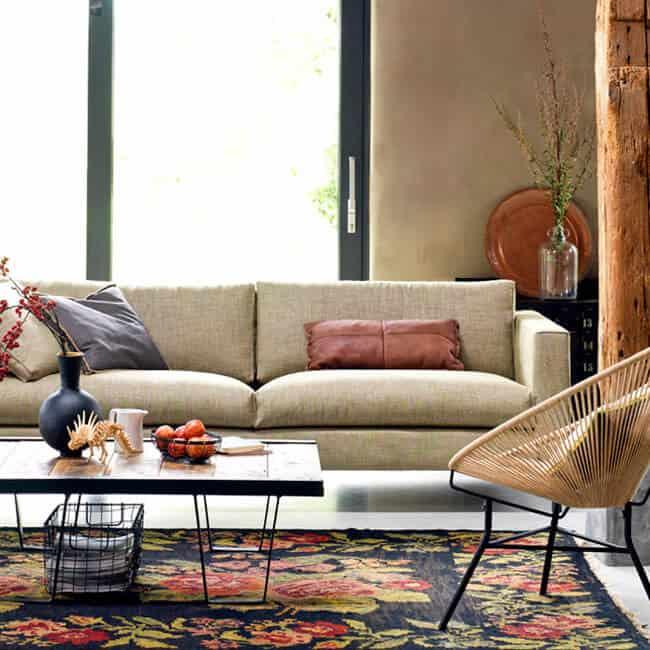 Rope chair | Touw stoel Chill Natural van Bodilson | Een super aanvulling voor jouw botanische look in je huis. Deze stoel is gemaakt van gevlochten touw | www.homeseeds.nl