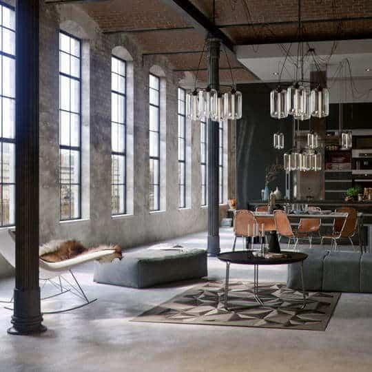 industrieel interieur | robuust-strak-functioneel-ruig |woonstijl| www.homeseeds.nl
