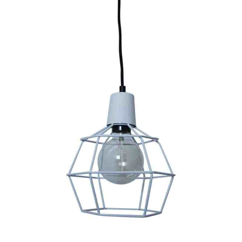 draadlamp Wire Wit van Urban Interiors | Hanglamp | Hanglampen Verlichting | www.homeseeds.nl