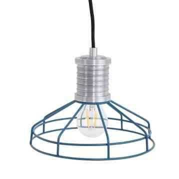draadlamp Wire-O blauw leuke hanglamp draad van Anne Lighting | www.homeseeds.nl