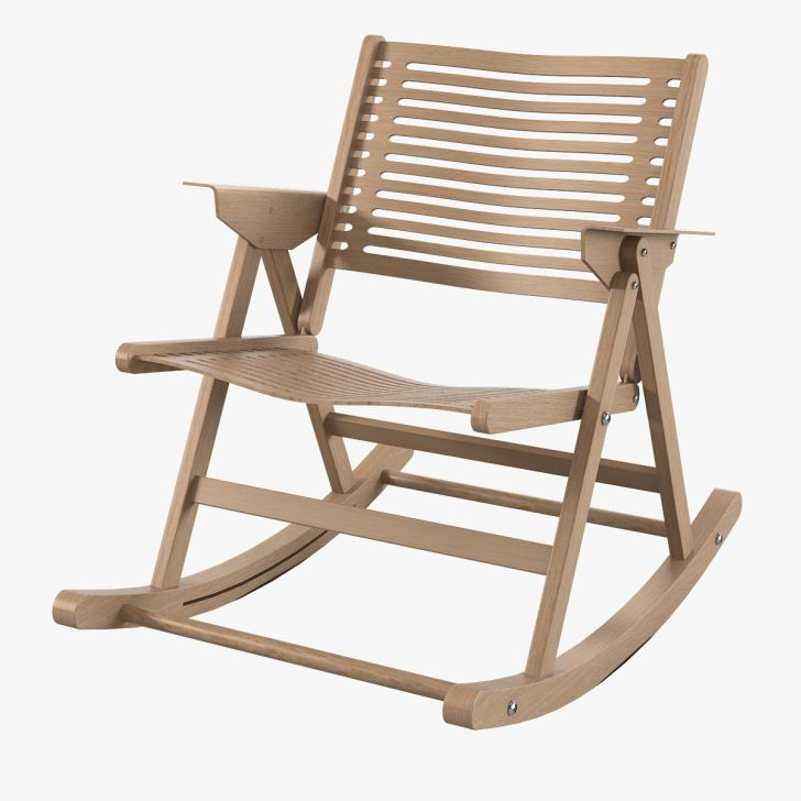 Simple Style of Outdoor Folding Rocking Chair  Homes
