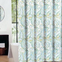 Teal Curtains For Living Room Reclining Chaise Lounge Chairs Cynthia Rowley Shower Curtain – Homes Furniture Ideas