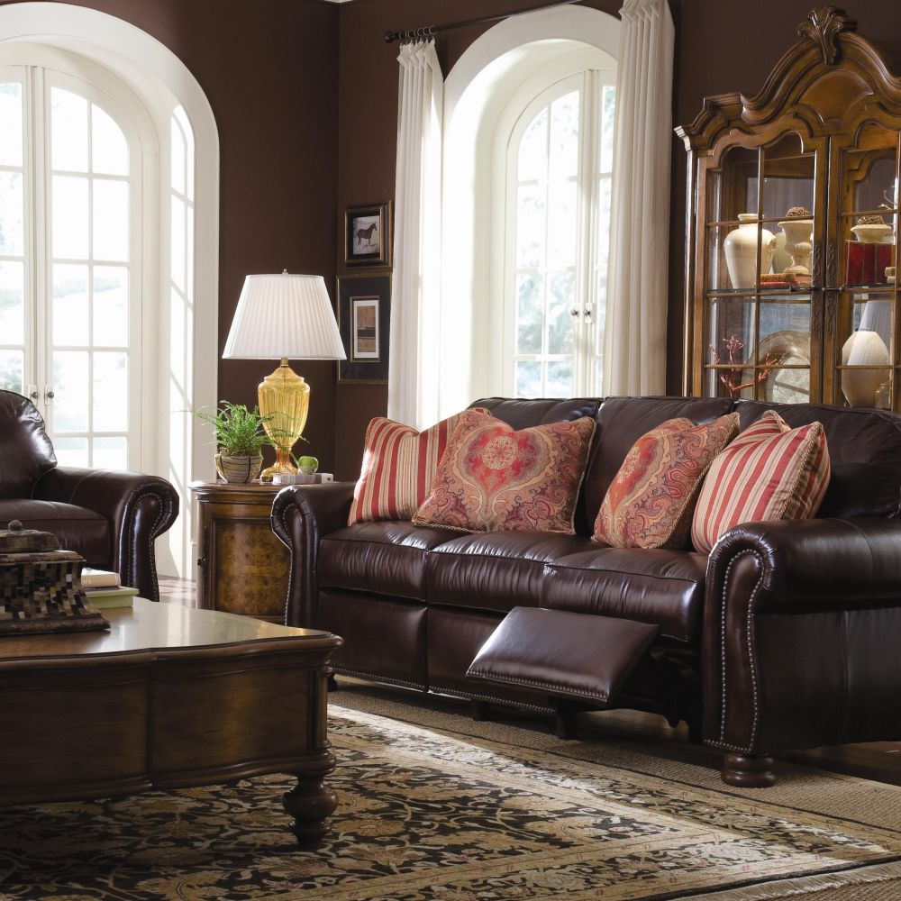 thomasville benjamin leather sofa htl recliner singapore sectional couch exhibit exclusiveness and ...