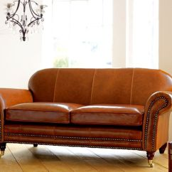 Reclining Sofa Leather Brown Sofas With Chaise Lounges Tough Snazzy Distressed Leather-based Couch Coming ...