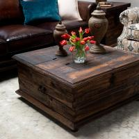 Rustic Trunk Coffee Table for Your Living Room  Homes