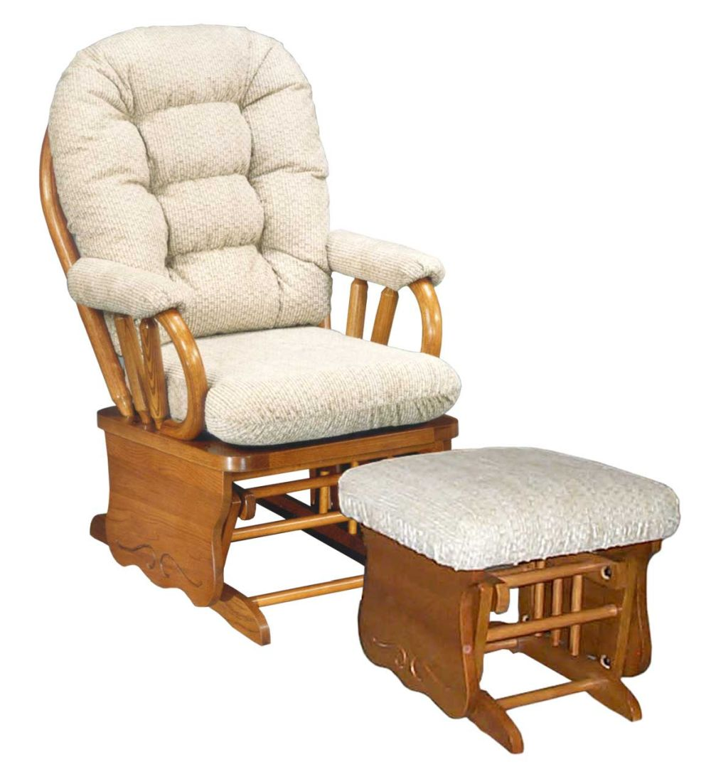 Rustic Glider Rocking Chairs Types of Replacement Glider