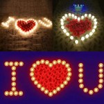 Electronic Candles Flickering LED Lamp