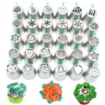 DIY Series Stainless Steel Christmas Decorating Mouth 30 Variety of Cakes Decoration Tools