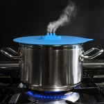 Cooking Lid Steam Ship Boat Silicone Home House Chimney Silicone Lid Creative Kitchen