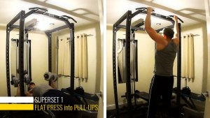 Chest and back supersets