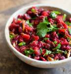 Cranberry poblano salsa | Homesick Texan