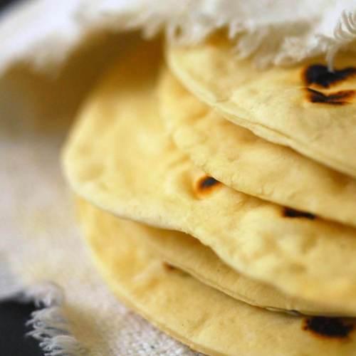 Texas flour tortillas