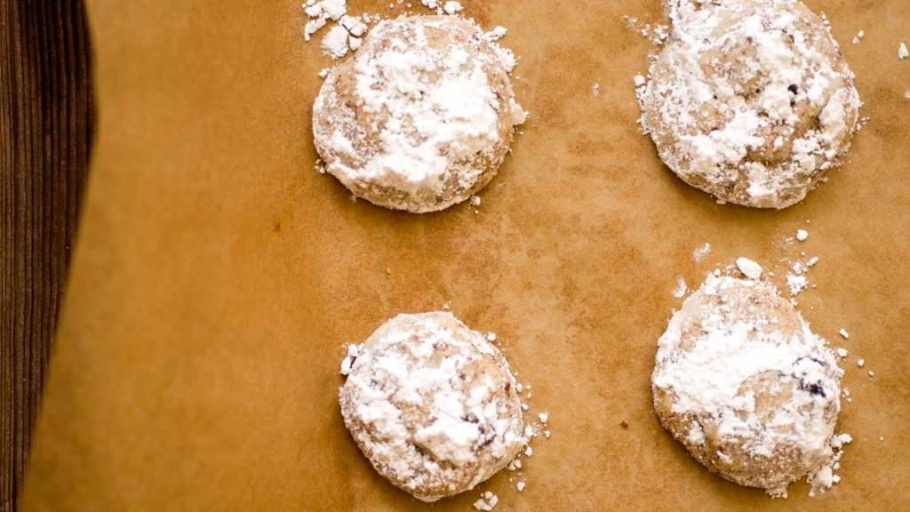 cherry almond cookies | Homesick Texan