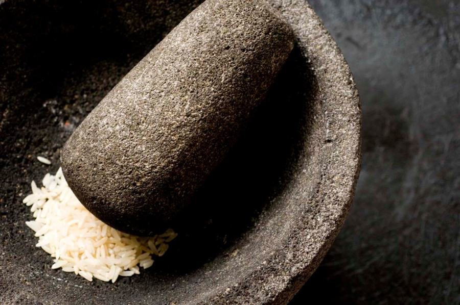 How to season a molcajete | Homesick Texan