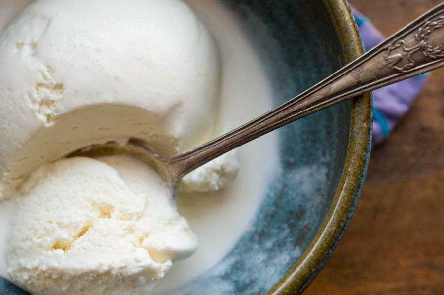 Honey lavender ice cream | Homesick Texan