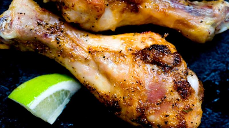 Roasted chicken with chipotle