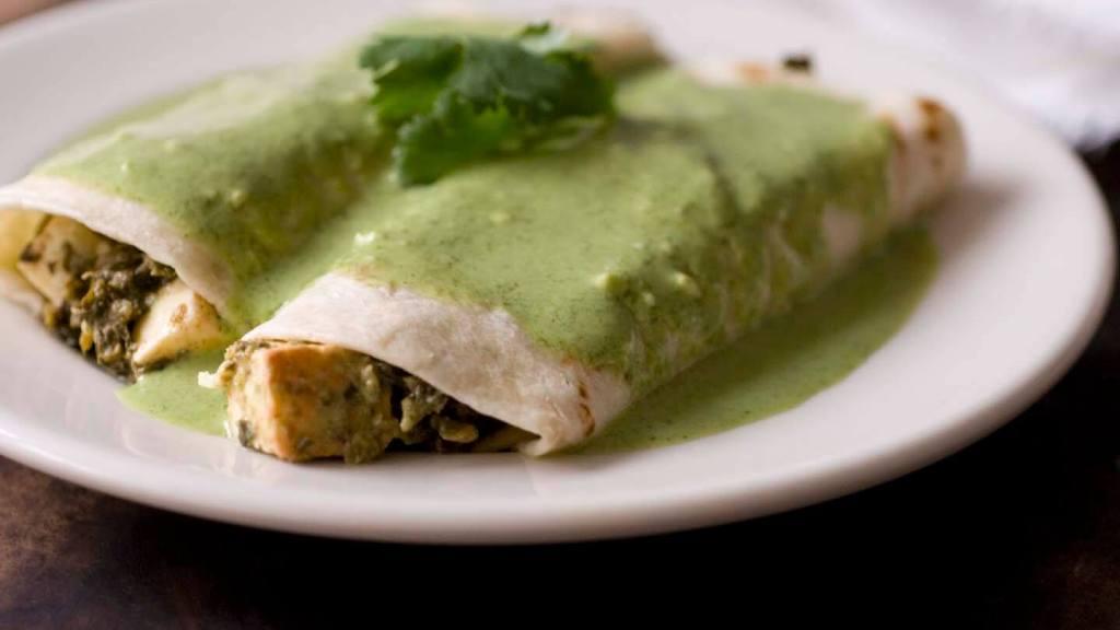Saag paneer enchiladas | Homesick Texan