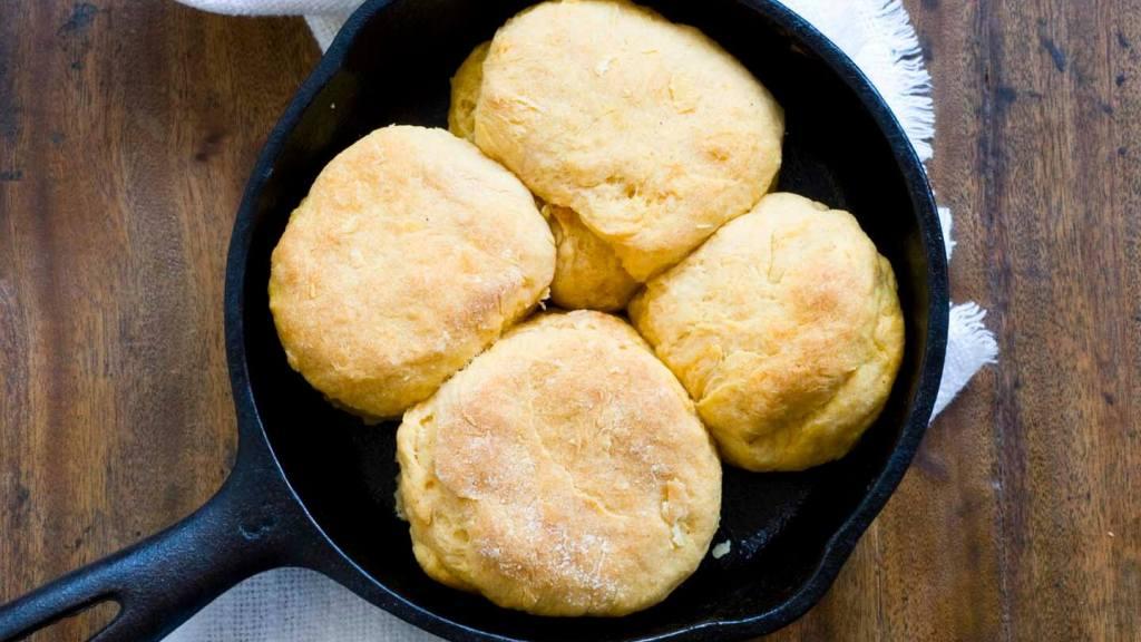 Sweet potato biscuits with chorizo cream gravy | Homesick Texan
