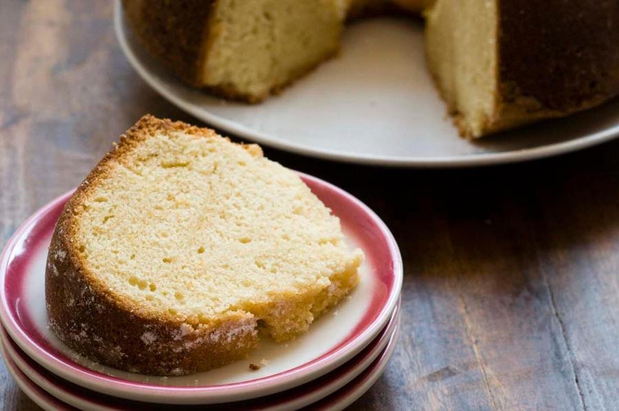 Sour cream pound cake with ruby red grapefruit | Homesick Texan