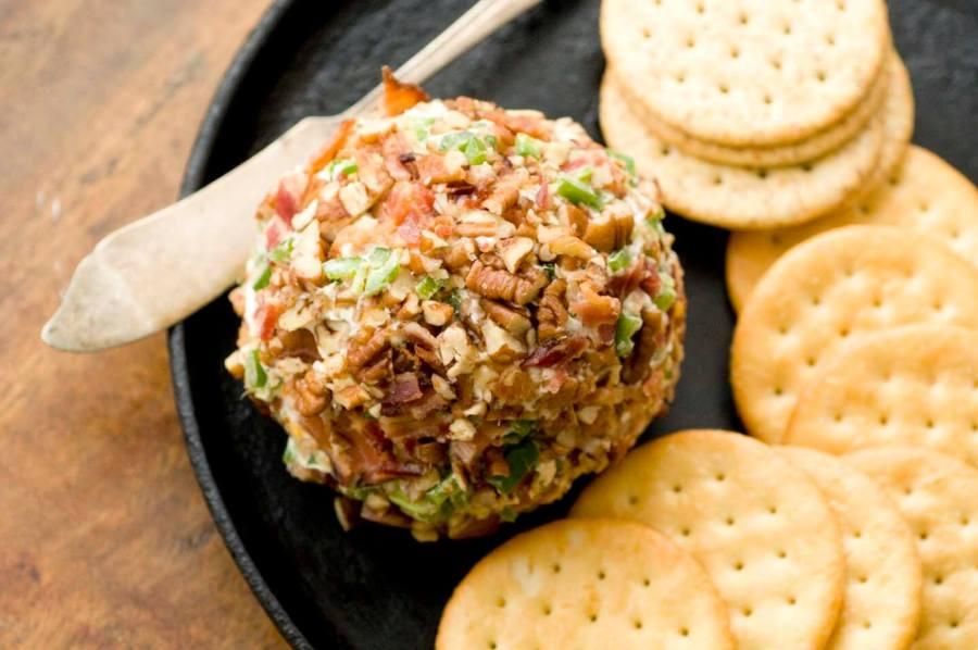 Bacon-jalapeno cheese ball   Homesick Texan