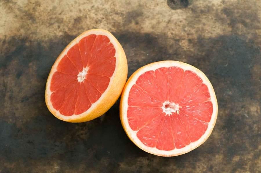 Ruby red grapefruit and pecan sheet cake | Homesick Texan
