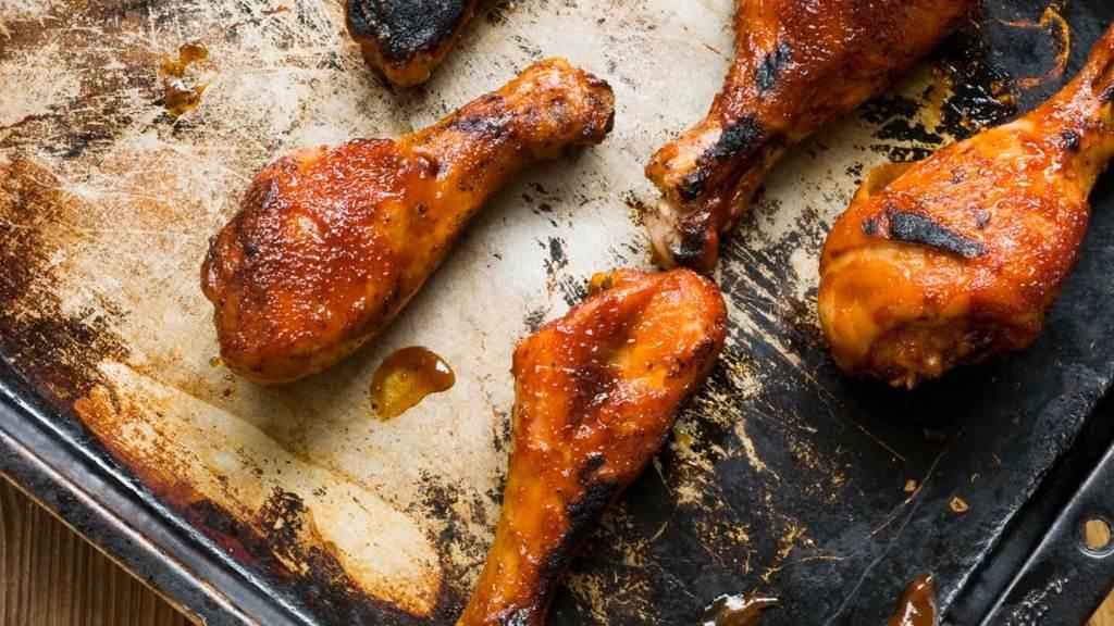 Chipotle-orange glazed drumsticks | Homesick Texan