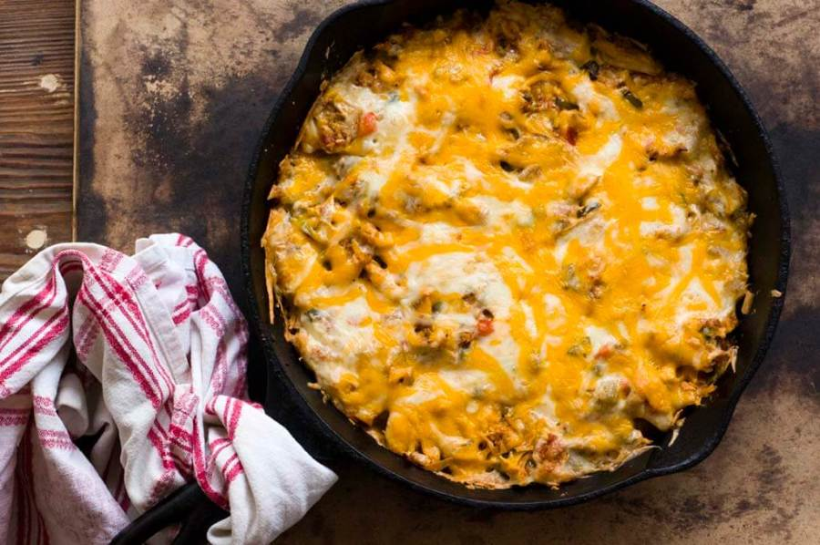 chicken tortilla casserole | Homesick Texan