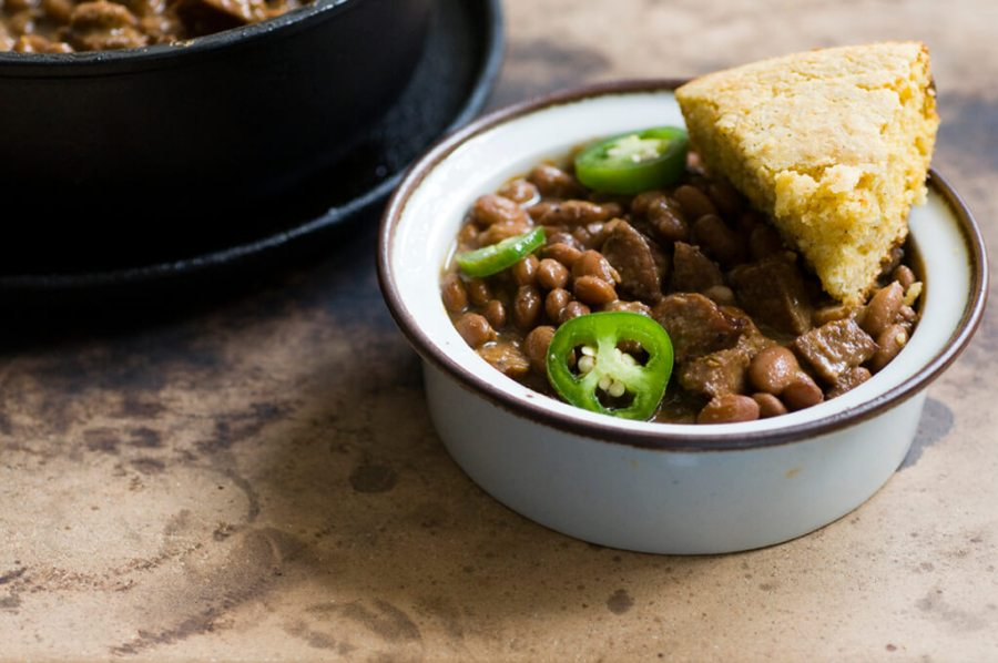 Pinto beans and sausage | Homesick Texan