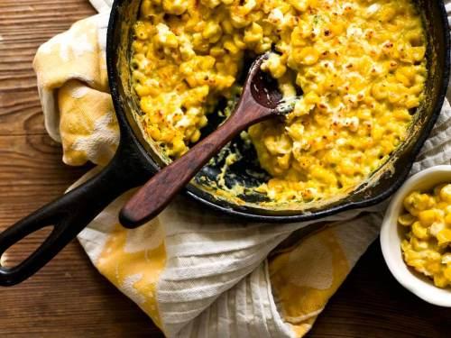 Jalapeño creamed corn